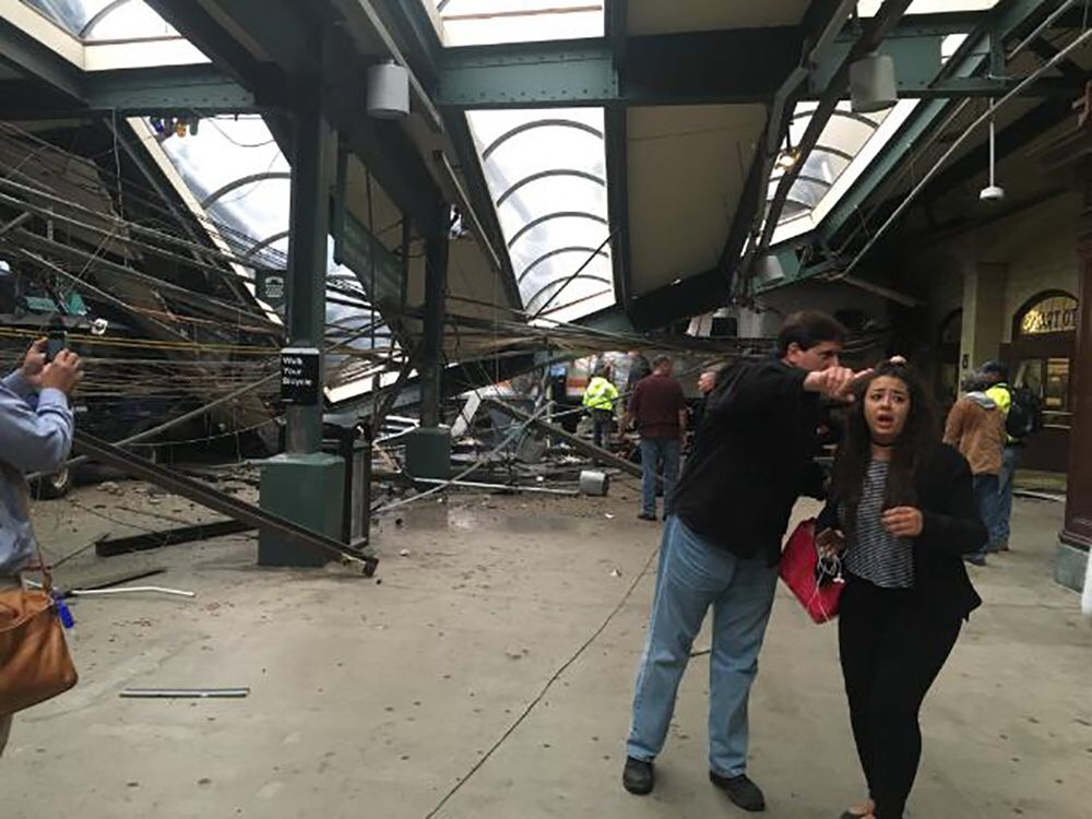 Train crashes into New Jersey Transit station in Hoboken, at least 1 dead, Dozens Injured