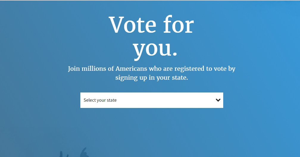 Register to vote for your family, vote for your community, vote for you