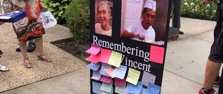 KOO AND SELFHELP SENIOR CENTER HOLD CANDLELIGHT VIGIL ON ANNIVERSARY OF DEATH OF VINCENT C. TSE