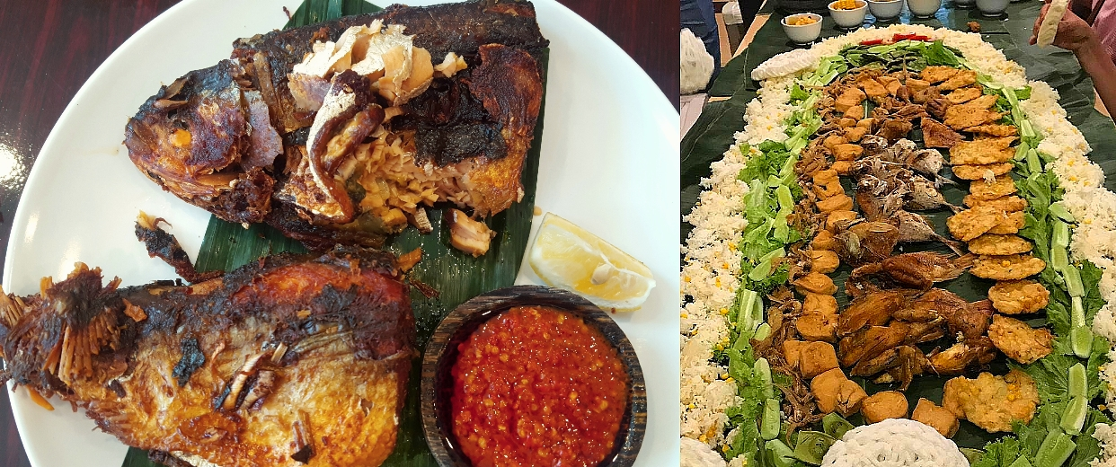 Savor a spicy, succulent Indonesian spread with the Queens Dinner Club