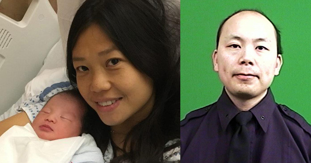 NYPD cop Wenjian Liu's daughter is born three years after his death