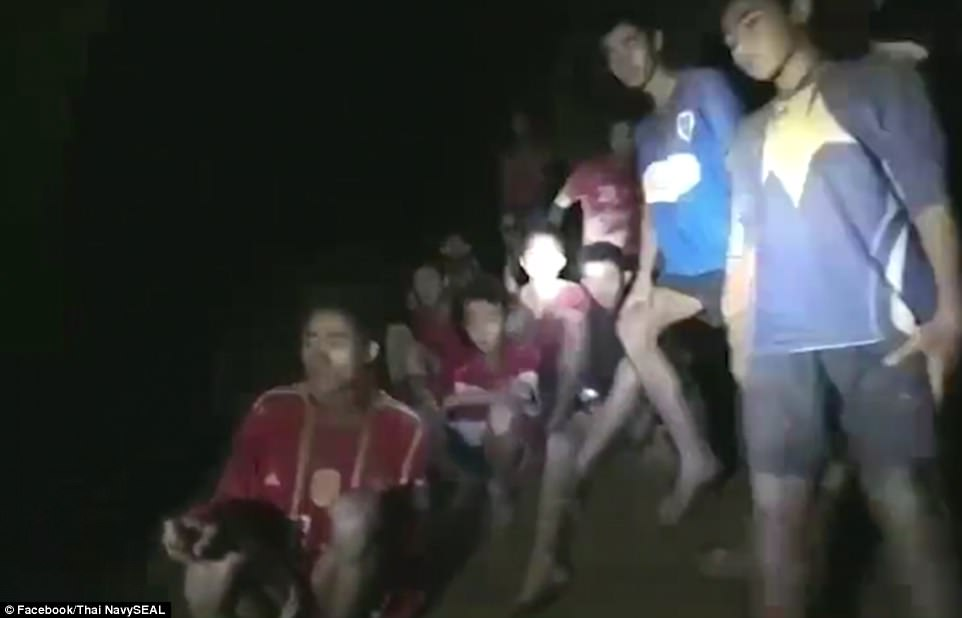 12 missing boys who were lost inside flooded Thai caves for 9 days are found alive