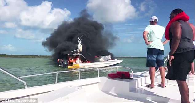 One American dead, nine injured after boat explosion in the Bahamas