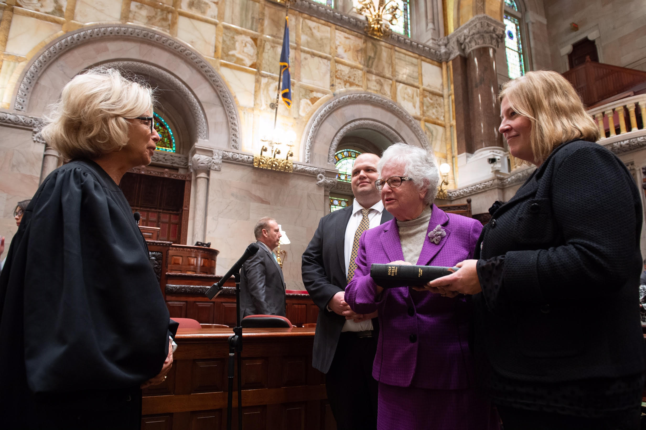 New York Senator Stavisky Takes Oath, Begins 11th Term in Albany