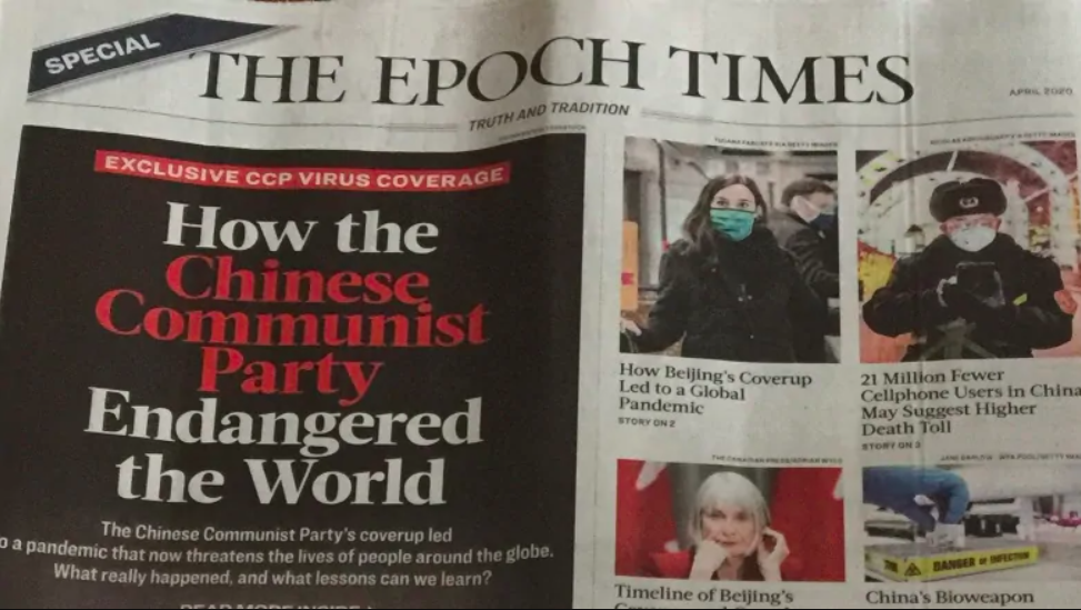 Epoch Times Editorial: To Resist the Chinese Communist Party Virus, Say No to the CCP